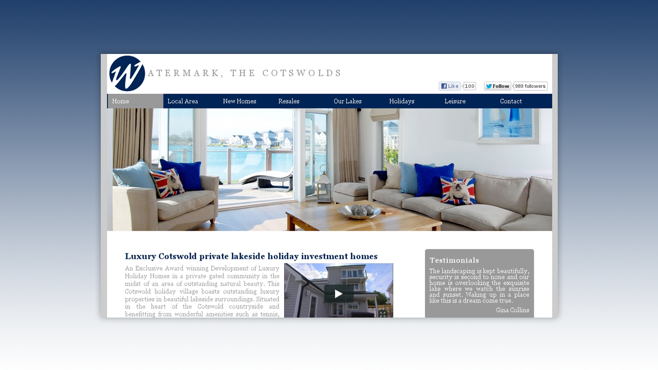 Watermark, the Cotswolds Web Design by OpenGlobal ECommerce
